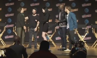 The Defenders panel