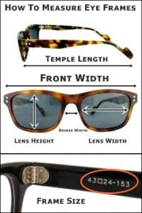 Old Focals How To Measure Eyeframes