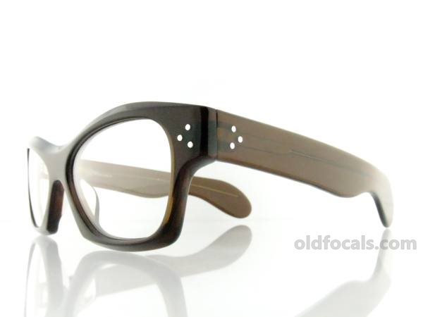 Old Focals | Collector's Choice | Rocker | Brown Smoke | 03