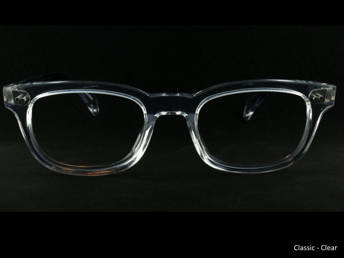 Classic Old Focals Frame Clear