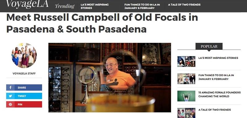 old focals founder interviewed by Voyage LA
