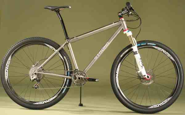 Strong hardtail mountain bike