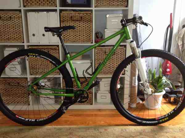 Weaver Cycle Works 29er mountain bike