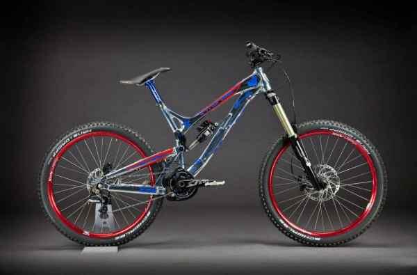 Big Jake Cooper's custom Intense Cycles SS2