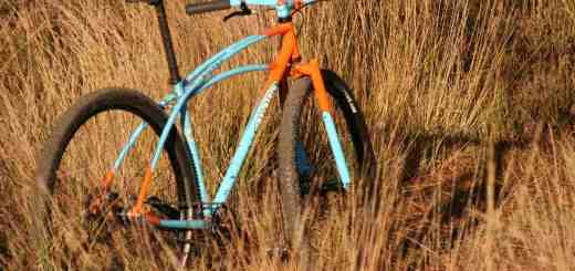 Retrotec rigid mountain bike Gulf Theme