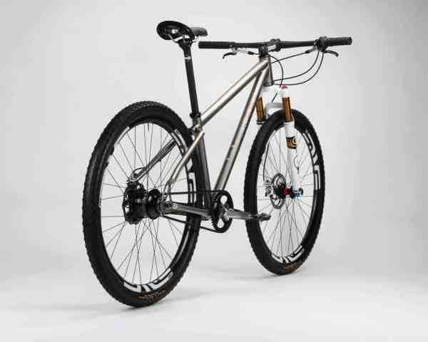 Titanium Firefly Bicycles mountain bike