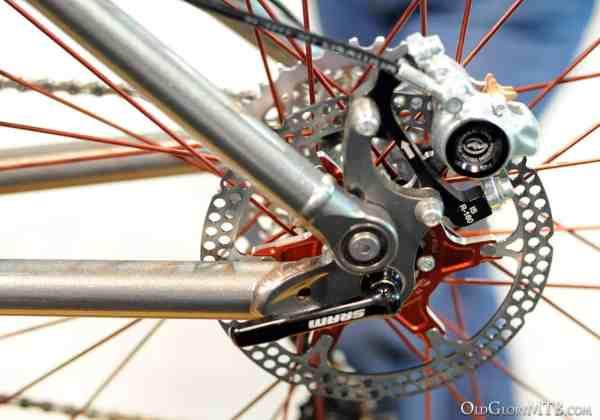 brake mount detail