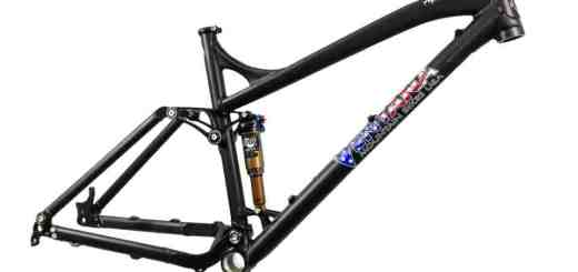 "2013 Ventana Alpino 27.5"" (650B) mountain bike frame"