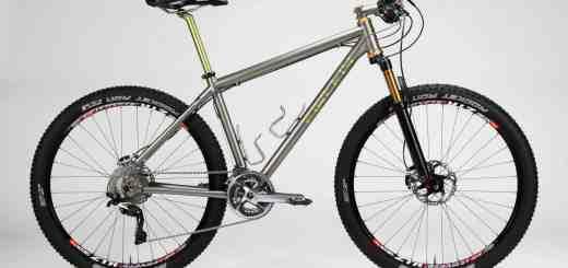 Firefly 650B titanium hardtail