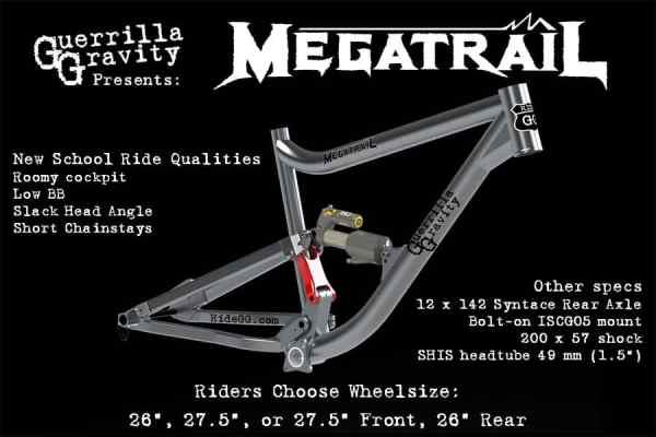 2014 Guerrilla Gravity Megatrail