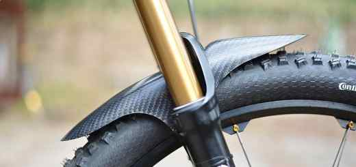 Rockguardz carbon mud guard