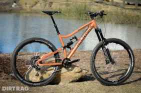 American made Durango Moonshine 27.5 mountain bike