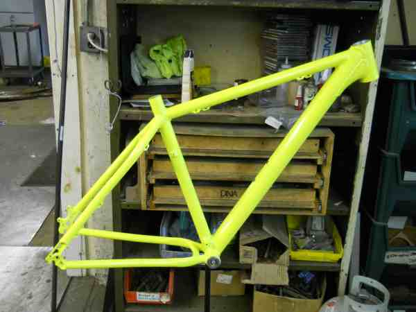 FTW 7005 aluminum MTB frame