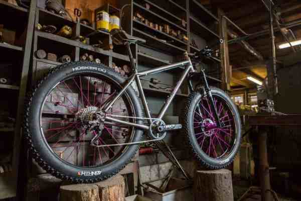 Kish titanium fat bike