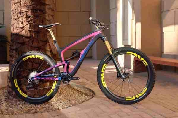 2016 Alchemy Arktos carbon mountain bike