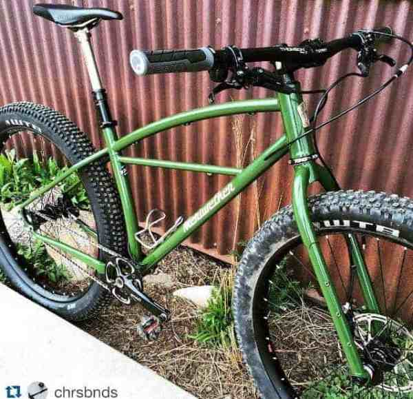 2016 Meriwether single speed rigid klunk