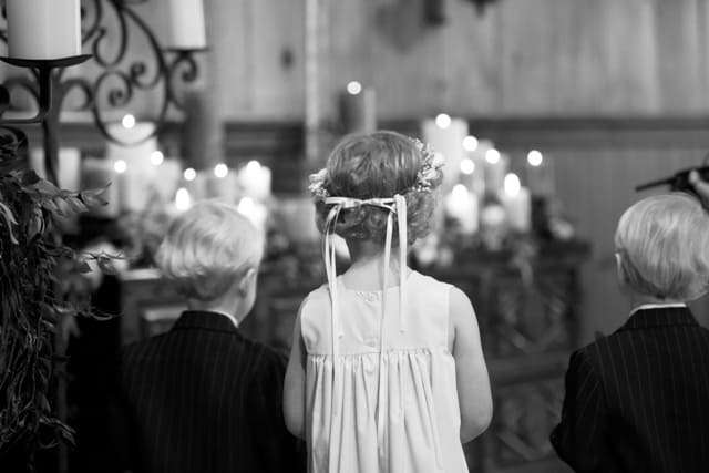 ring bearer flower girl