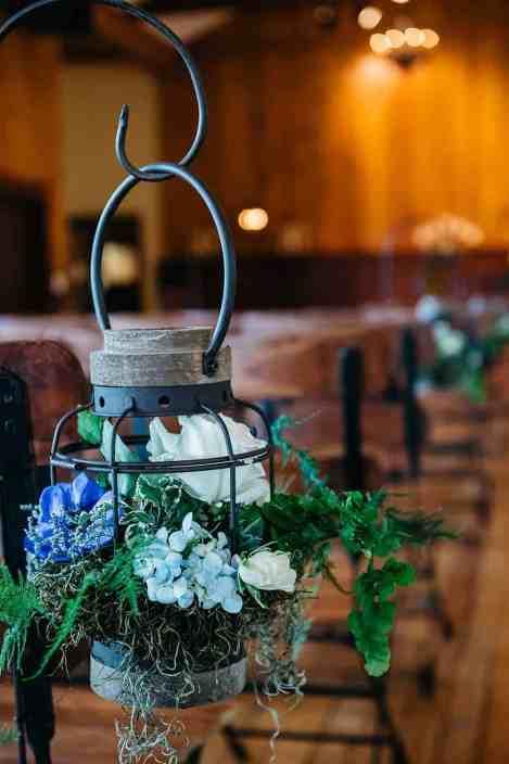 aisle-marker-indoor-chapel-ceremony-wedding venue-near-austin