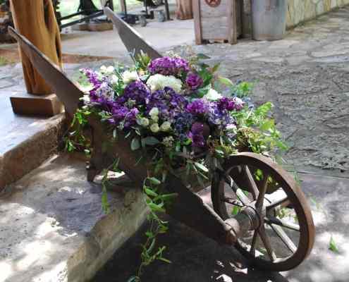 Wheelbarrow at Old Glory Ranch