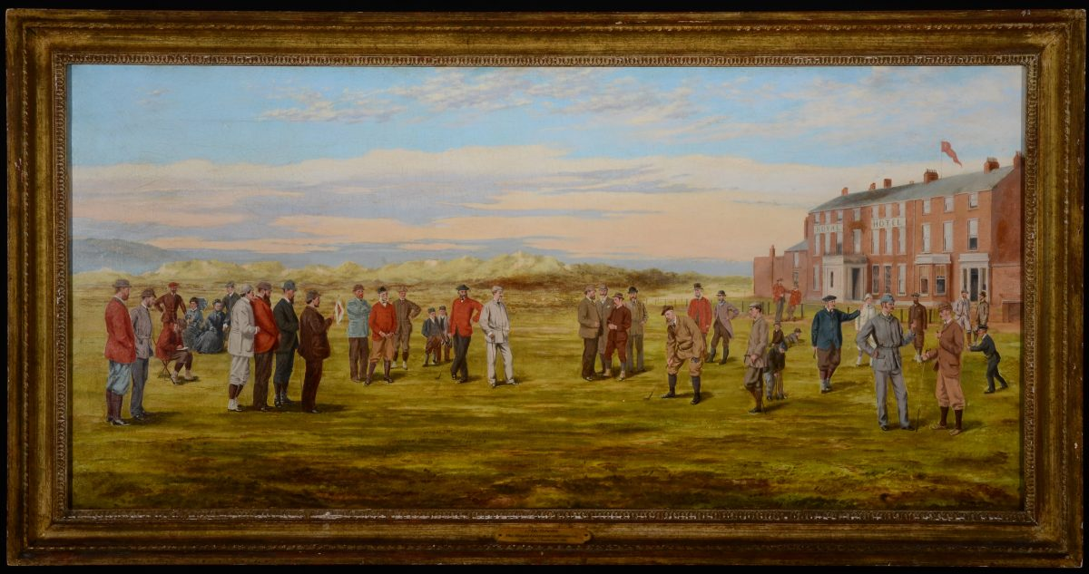 17th-Green-Hoylake-oil-painting-by-F-P-Hopkins-Major-S-dated-1881-e1496273968898
