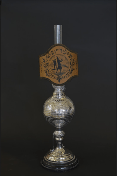 Silver Candlestick 2