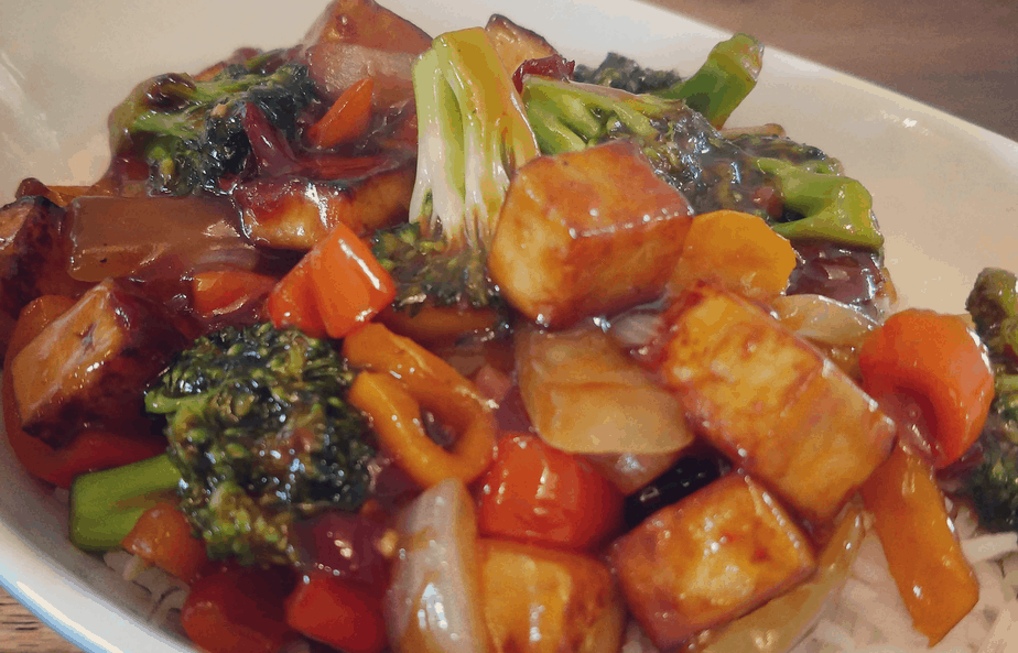 Tofu and Veggie Stir Fry