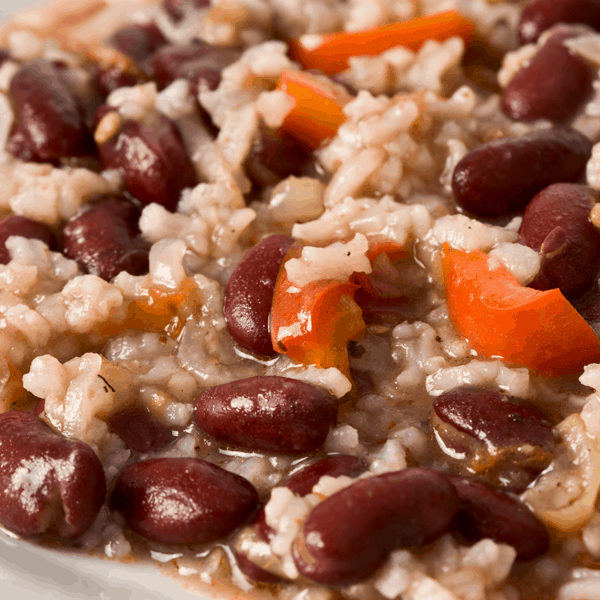 Naw'lins Style Red Beans & Rice in the Instant Pot