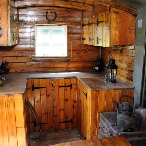 Inside steamer