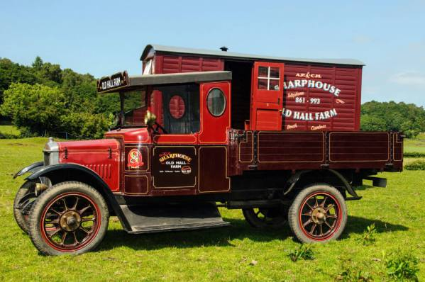 vintage sharphouse truck