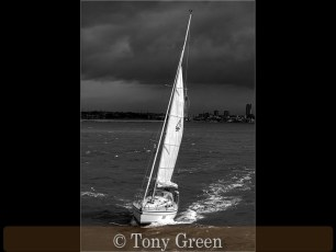 Commended_Tony Green_Racing before the storm