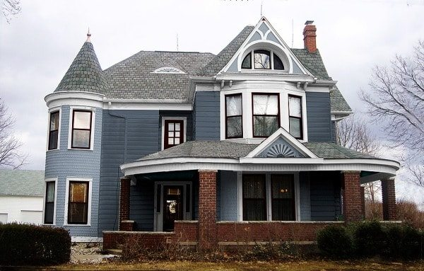 Late Victorian Exterior House Colors