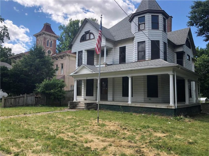 2 Illinois old houses for sale Under $45K