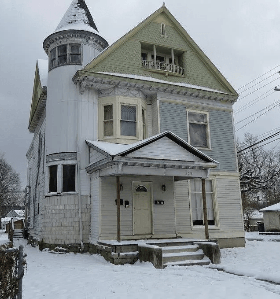 C.1900 Indiana For Sale By Owner Victorian W/ 2 Turrets