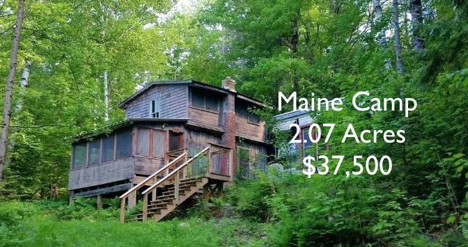 Maine hunting camp