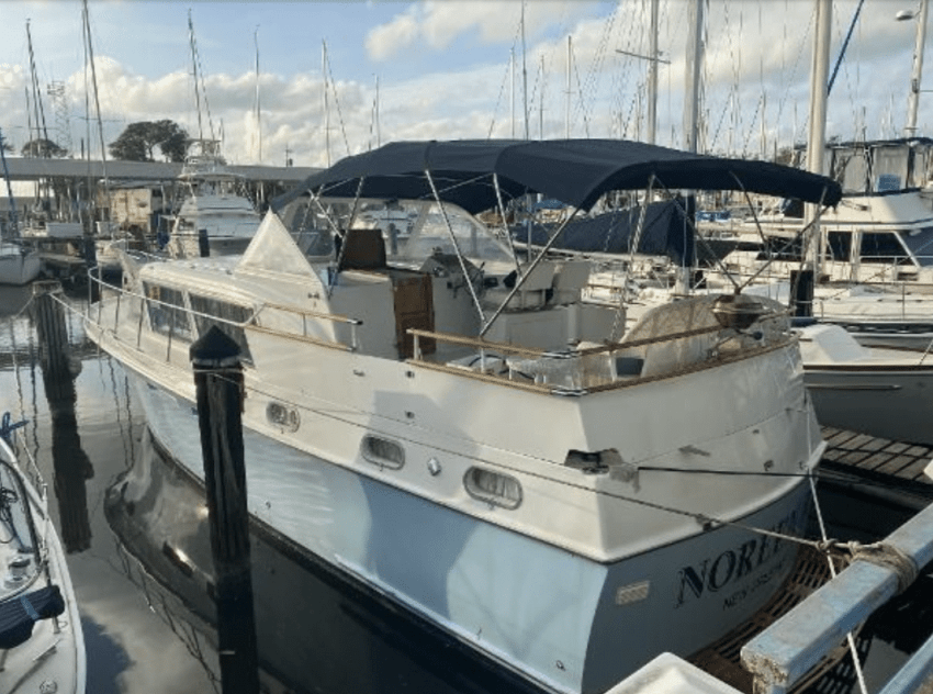 live-aboard boat for sale