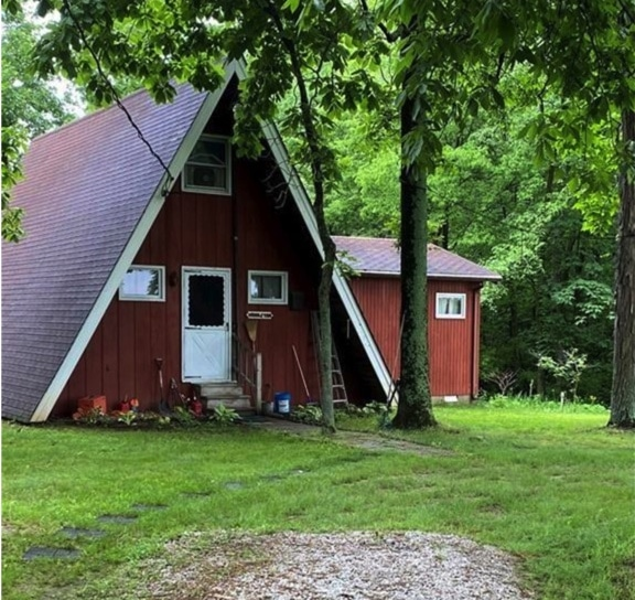 a-frame cabin for sale
