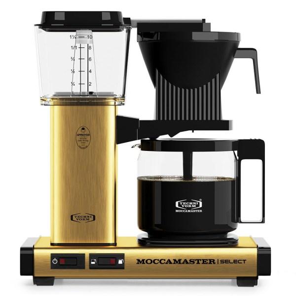 KBG Select Brushed Brass Moccamaster Selects - Filtre Kahve Makinası
