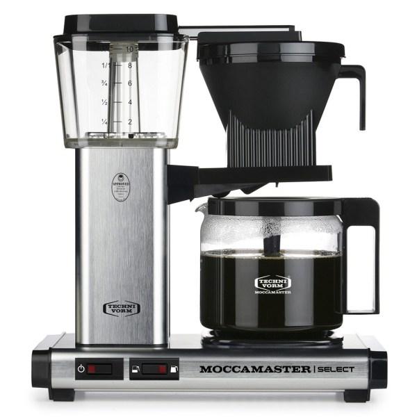 KBG Select Brushed Moccamaster Selects - Filtre Kahve Makinası