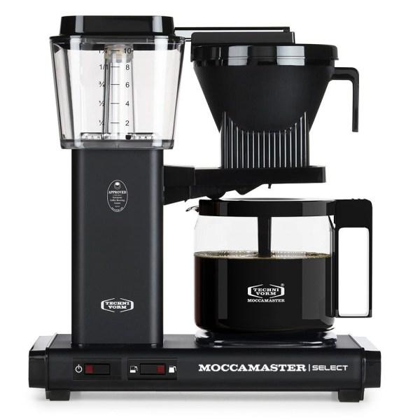 KBG Select Matt Black Moccamaster Selects - Filtre Kahve Makinası