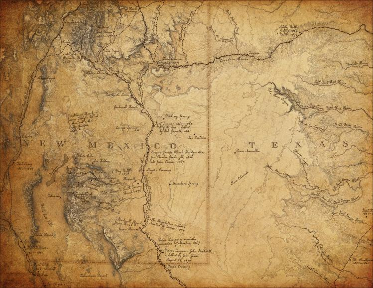 Old West Maps: The Cartography of Billy J. Roberts