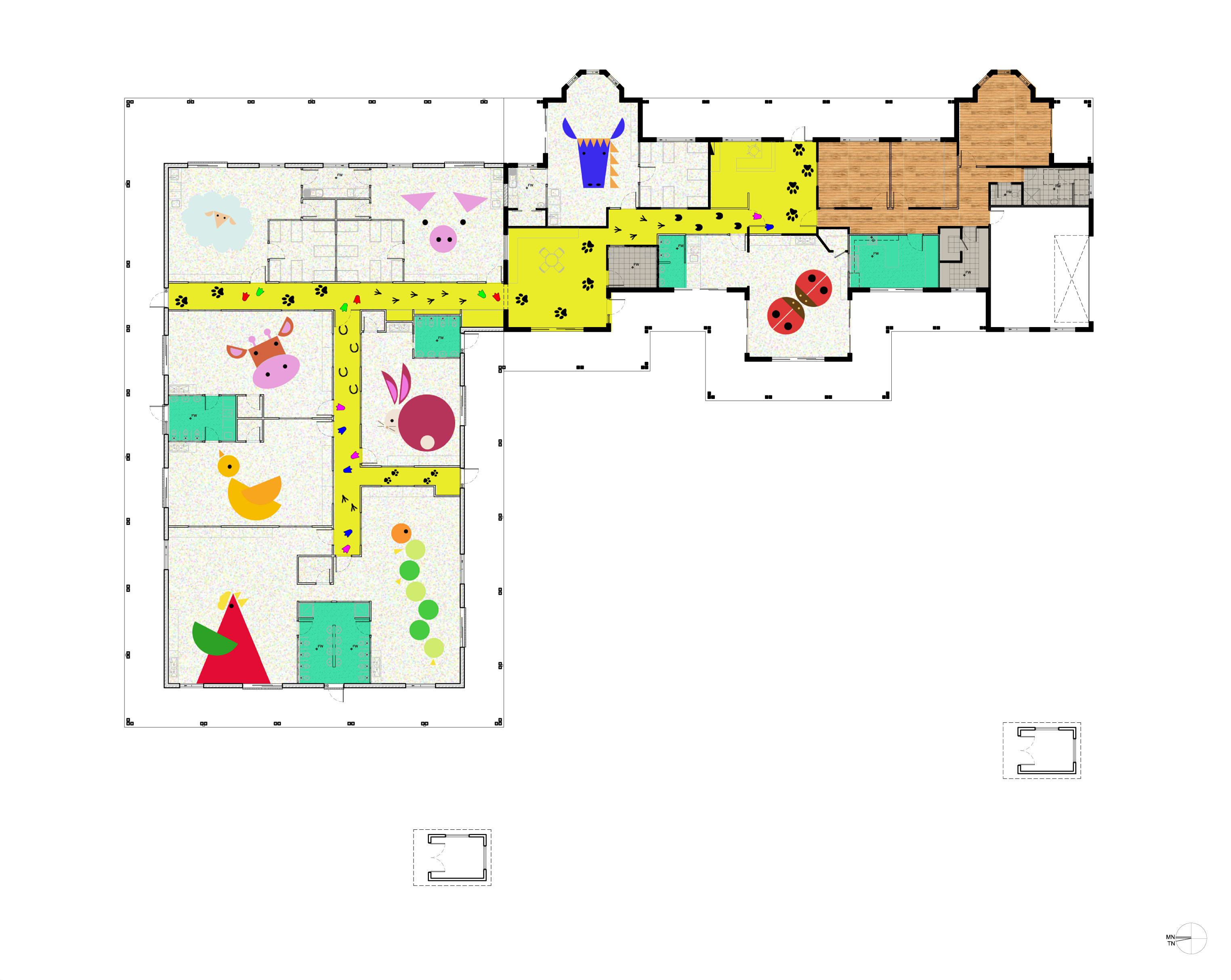 View Our Child Care Centre Layout