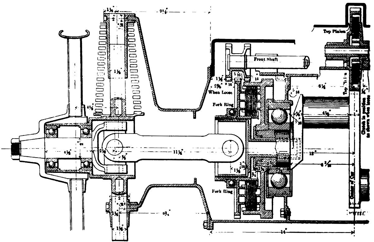 Christie V 4 Engine Racer
