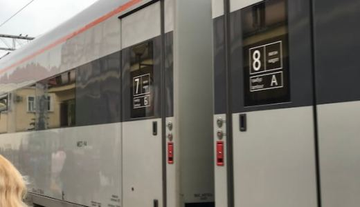 テルノピーリから首都キエフまで初の特急電車
