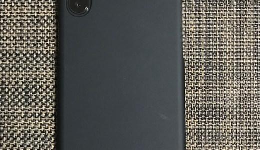 iPhone X   AndMesh ケース マットブラックを購入
