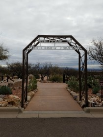 Entrance to Kartchner Caverns State Park, Arizona