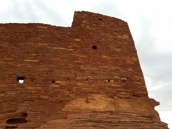 Hiking Wukoki Ruins Flagstaff Arizona
