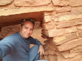 Hiking Arizona Wukoki Ruins Flagstaff. Rusty Ward