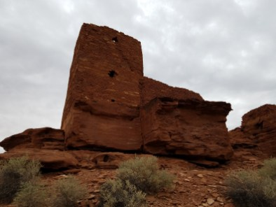 Hiking Arizona Wukoki Ruins Flagstaff
