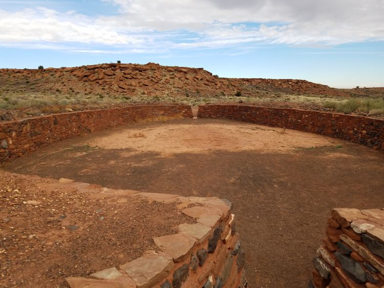 Hiking Wupatki Ruins in Flagstaff Arizona