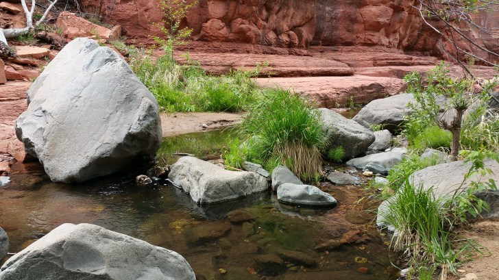 Slide Rock State Park. Sedona, Arizona